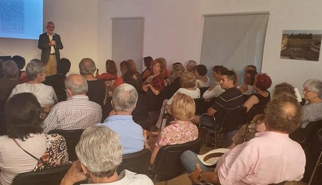 Sefardíes con nombre y apellidos, con Isaac Benabraham (Centro Sefarad Israel, Madrid, 25/6/2019)