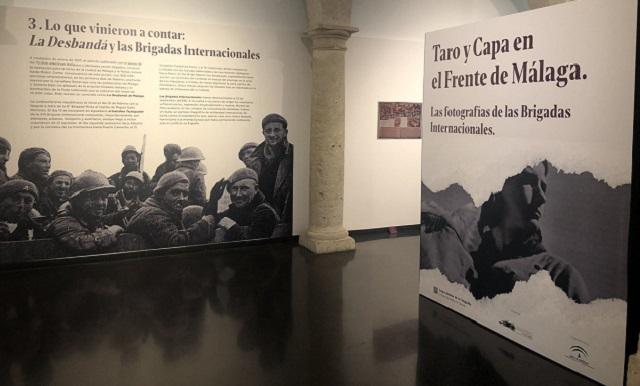 """""""Taro y Capa en el Frente de Málaga. Las fotografías de las brigadas internacionales"""" con Fernando Alcalde"""