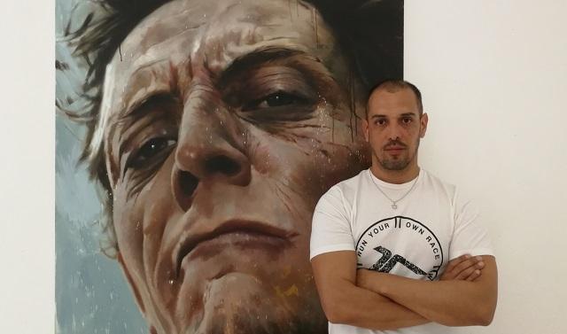 """""""Deconstrucción"""", con su autor Jair Leal"""