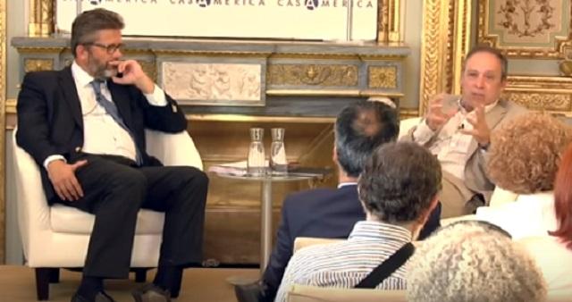 La ficción de la identidad judía, con Roberto Blatt y Miguel de Lucas (Casa América, Madrid, 8/9/2015)