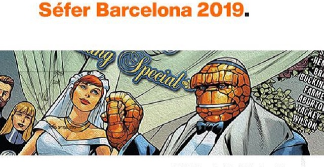 Séfer 2019, la Feria del Libro Judío de Barcelona