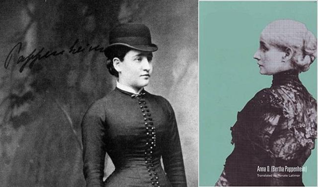 Bertha Pappenheim, judía pionera del trabajo social, con Jorge Schneidermann