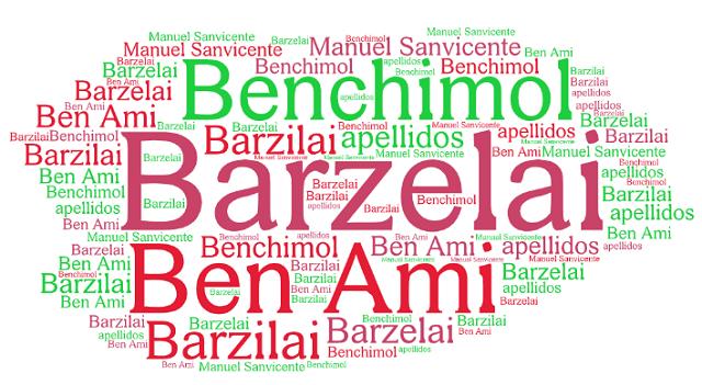 El origen de los apellidos Benchimol, Ben Ami y Barzelai (Barzilai)