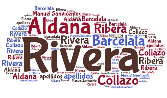 El origen de los apellidos Aldana, Rivera, Barcelata y Collazo