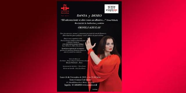 """Danza y deseo"" con Ornili Azulay"