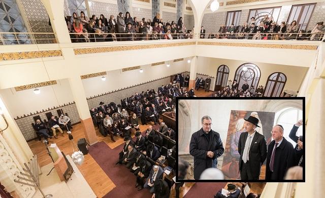 Un proyecto reúne a las comunidades judía y católica en Oporto, Portugal