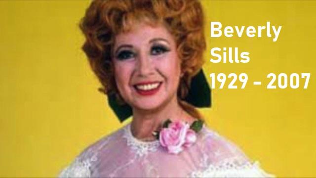 Beverly Sills canta en francés