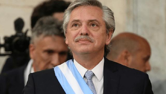 El presidente argentino en el 75º aniversario de la liberación de Auschwitz