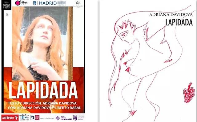 """Lapidada"", con su autora Adriana Davidova"