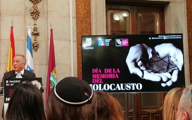 Acto de homenaje a las Víctimas del Holocausto (Ayuntamiento de Madrid, 4/2/2020)