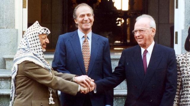 Los Reyes visitan Israel (1993-96)