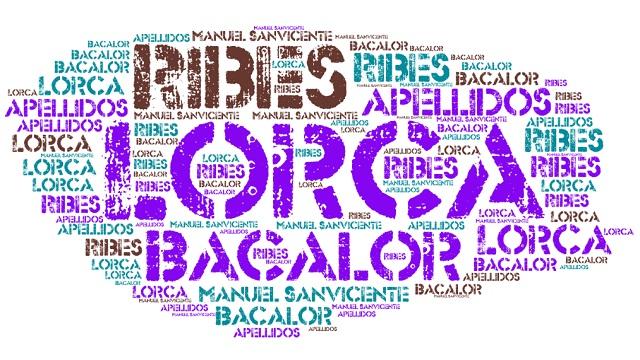 El origen de los apellidos Ribes, Bacalor y Lorca