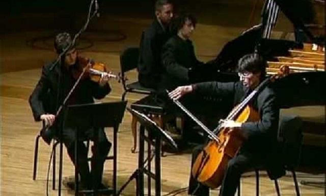 Tel Aviv Trio interpreta el Trío en sol menor opus 3 de Ernest Chausson
