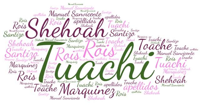 El origen de los apellidos Tuachi/Toache, Shehoah, Santizo, Marquinez y Rois