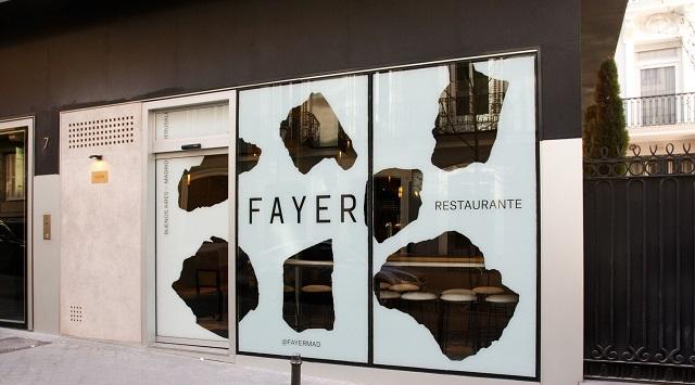 Restaurante Fayer: humus y parrilla