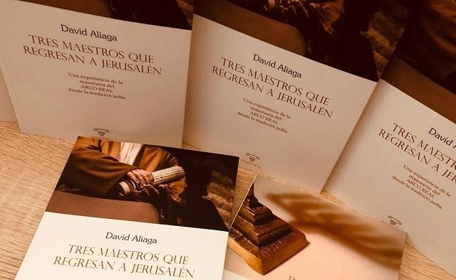 """""""Tres maestros que regresan a Jerusalén"""", con su autor David Aliaga"""