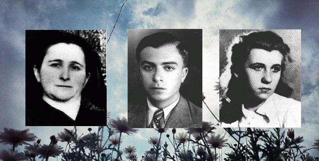 En nuestra memoria Sara Galperin, Moise Gani y Zofia Yamaika