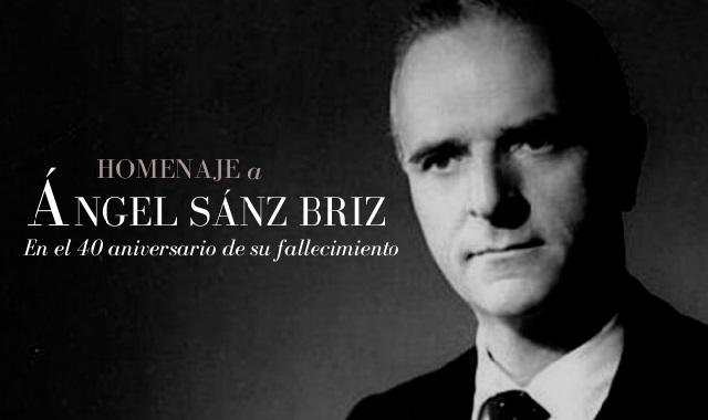 A 40 años de la muerte de Ángel Sanz Briz, con José Antonio Lisbona