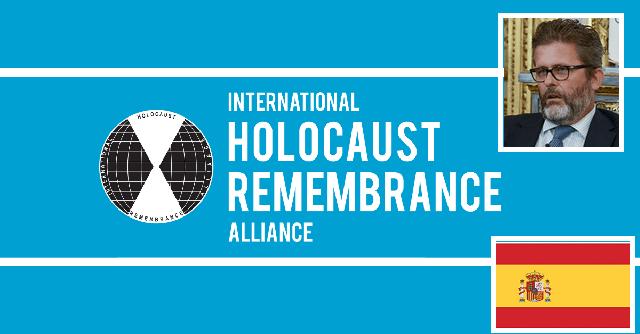 """""""Recordaremos la adopción de la definición del antisemitismo del IHRA como uno de los hitos principales"""", con Miguel de Lucas"""