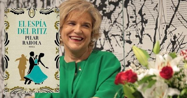 """""""El espía del Ritz"""", con su autora Pilar Rahola"""