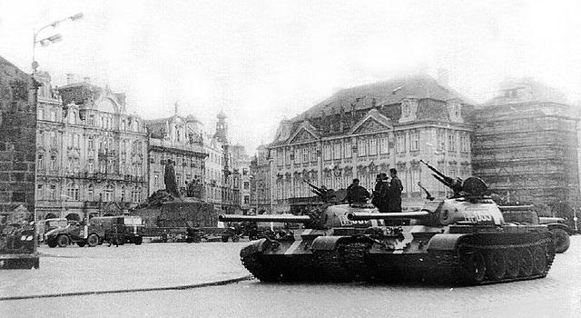 """La """"Primavera de Praga"""" de Dubcek en Checoslovaquia"""