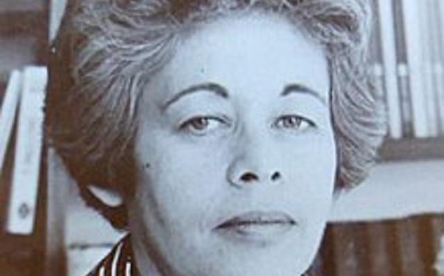 La liquenóloga israelí Melitta Katz (Margalith Galun)