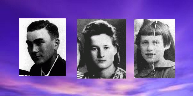 Naftali Saleschutz, Stefania Podgorska y Zalie Waldhorn