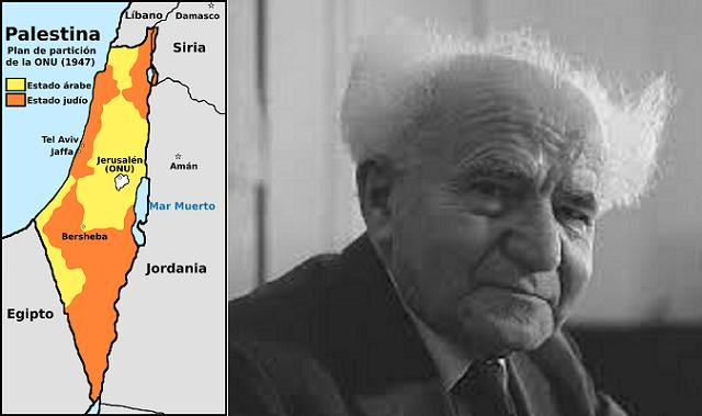 Dos importantes efemérides: 73 años de la Partición de Palestina y 43 de la muerte de Ben Gurión
