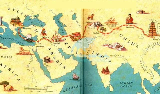 Colonialismo e imperialismo en el Oriente (3ª parte): judíos en la Ruta de la Seda