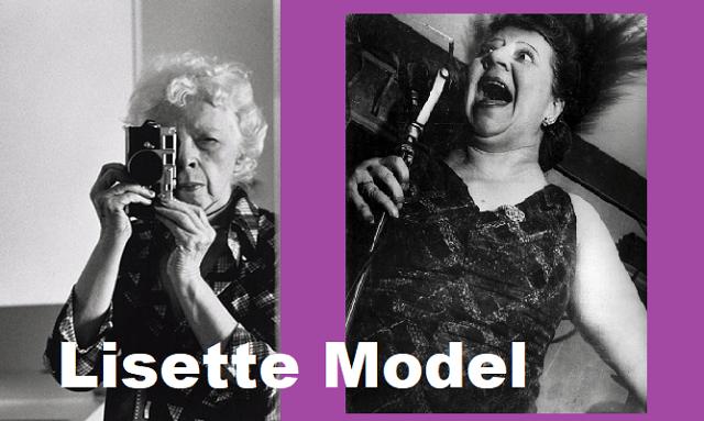 Elise Seybert (Lisette Model), fotógrafa de primera