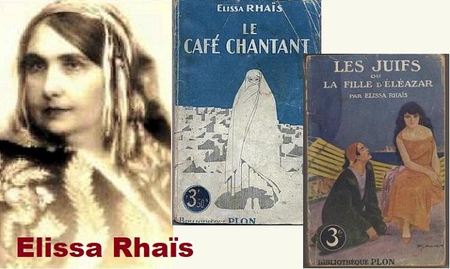 Elissa Rhaïs, escritora de novelas inspiradas en la vida en Argelia