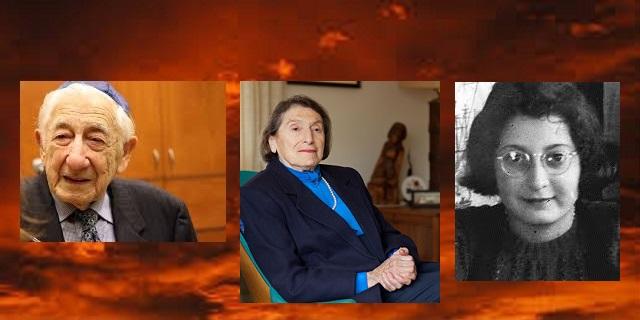 En nuestra memoria Moniek Rozen,  Dora Eiger  y  Judith Margareth Konijn