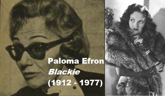 En el Día de la Mujer, recordamos a Blackie (Paloma Efron)
