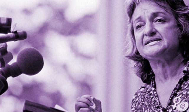 Betty Friedan, referente feminista de pensamiento para el judaísmo, con Josune Muñoz
