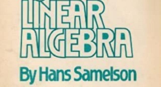 El topólogo y matemático Hans Samelson