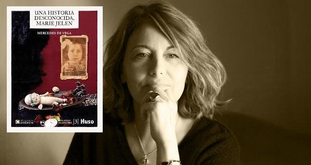 """Mercedes de Vega nos presenta su libro """"Una historia desconocida, Marie Jelen"""""""