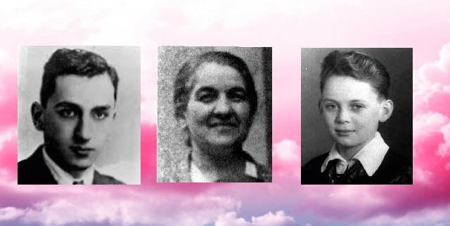 En nuestra memoria Mario Finci, Emma Freund y Thomas Buergenthal