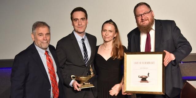 Luis Ferreiro, primer español premiado por el Museo Estatal de Auschwitz-Birkenau