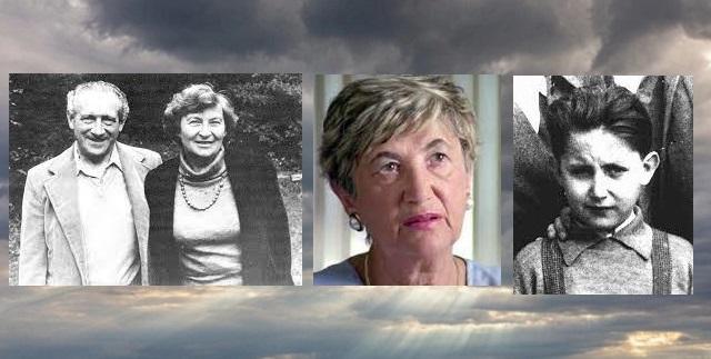 En nuestra memoria los supervivientes Chaim Engel, Cecilie Klein Pollack y Pavol Kovac