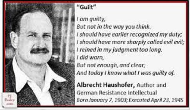 Albretch Hausshoffer, el opositor honesto y valiente