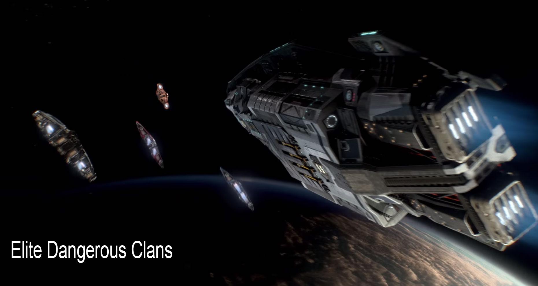 elite dangerous clans radio