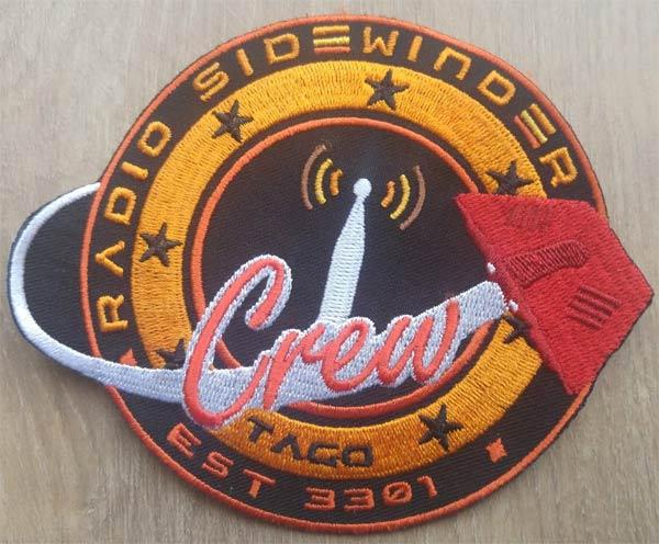 official radio sidewinder crew