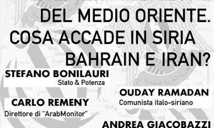 Radio Spada: 6/10 Conferenza a Modena/ COSA ACCADE IN SIRIA, BAHRAIN E IRAN?