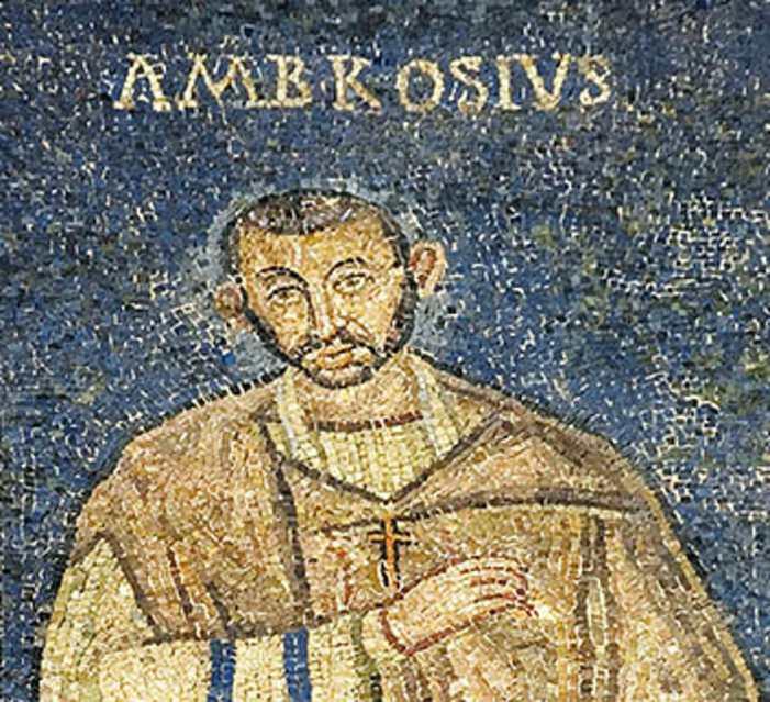 Sant'Ambrogio contro Simmaco e contro il paganesimo