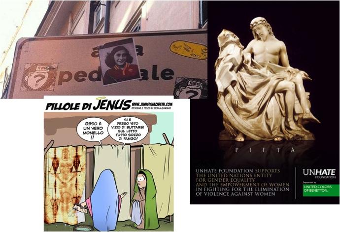 Anna Frank e un nuovo concetto di vilipendio della religione di stato