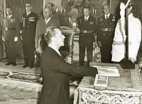 Omaggio a Blas Piñar López, nato al Cielo