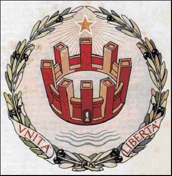 L'emblema della Repubblica Italiana disegnato da un massone