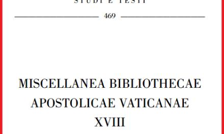 La Biblioteca Apostolica Vaticana pubblica il trattato illuministico-massonico di Francesco Longano