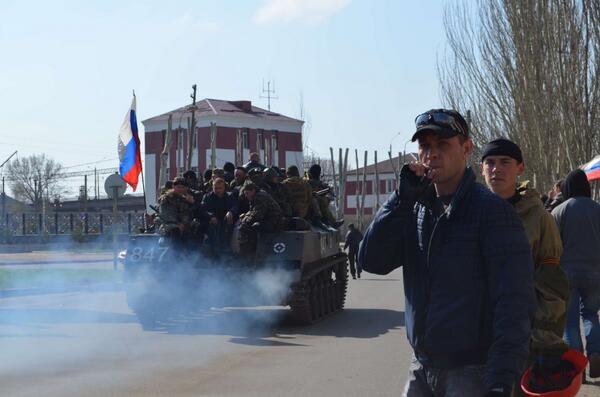 Venti di guerra in Ucraina orientale