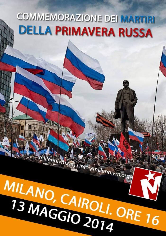 Millennivm commemora i martiri della primavera russa